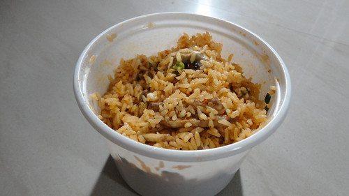 Chilli Mushroom Fried Rice