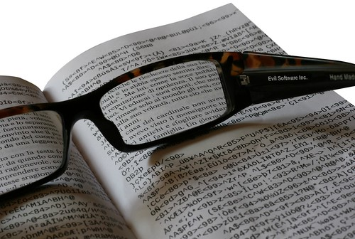 If they told you that to read a book you have to use glasses of a particular brand