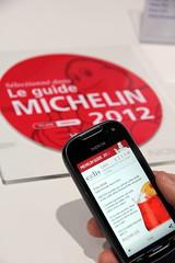 App NFC Michelin