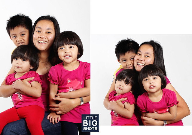 Five of Us | Family Studio Portraiture