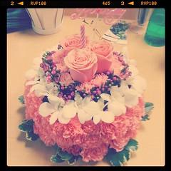 A zero-calorie birthday cake ;-)