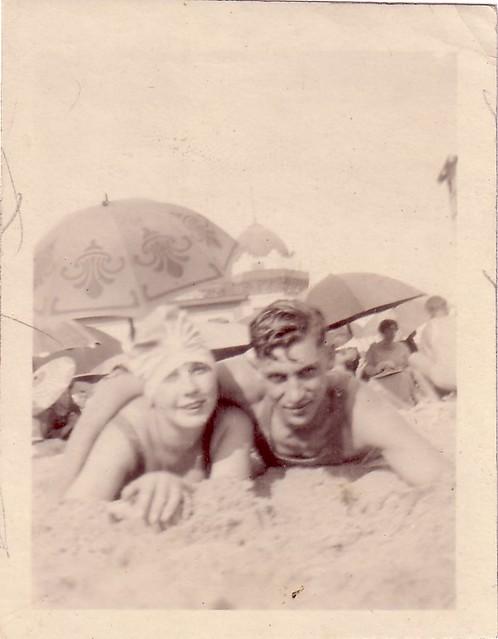 Jack Gruenberg with Anne Goodman
