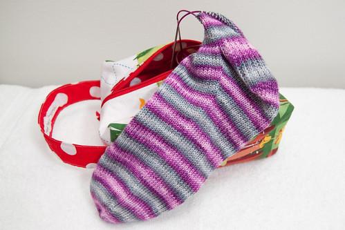 Bonnie & Clyde Stripey Socks
