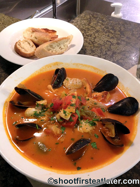 Seafood meals at Whole Foods Market- bouillabaisse $12