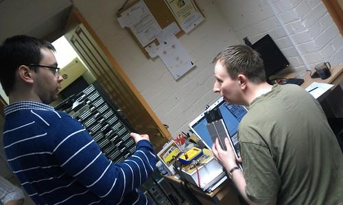 Arran and Donald talk about LEDs
