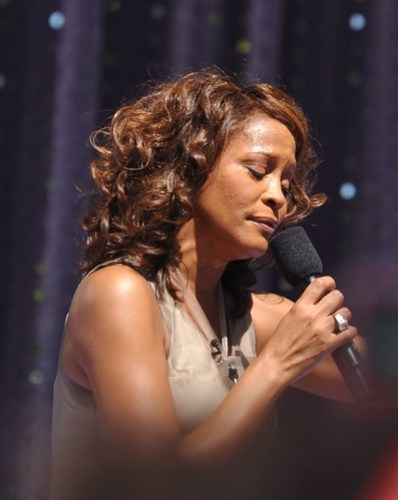 Whitney Houston - Concert in Central Park / Good Morning America 2009
