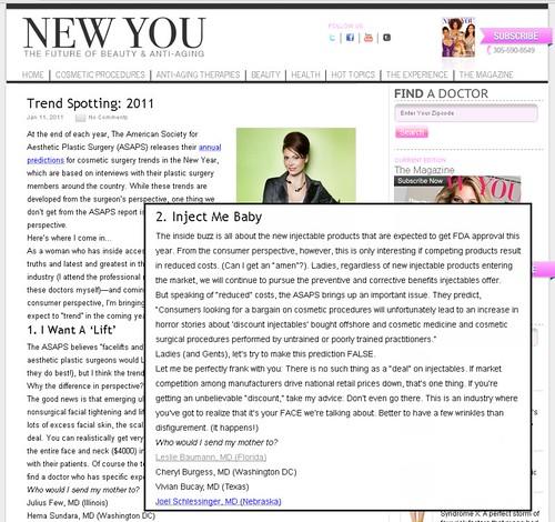 New You Magazine - Trend Spotting: 2011