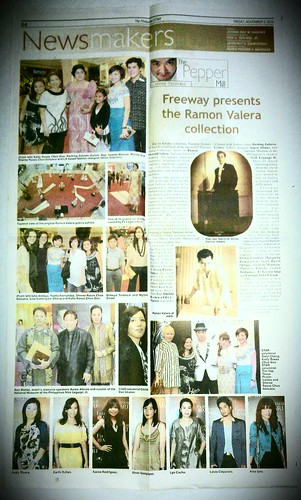 Philippine Star Lifestyle Ramon Valera Collection Launch