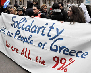 Occupy Greek solidarity