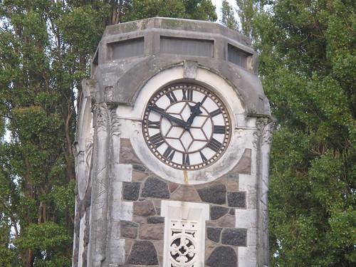 Clock tower on Madras Street