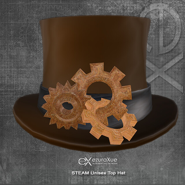 + eX + STEAM Unisex Top Hat