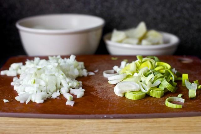 onion, leek