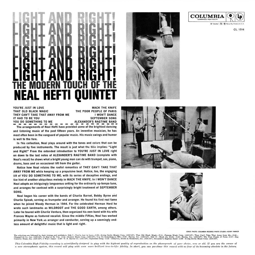 Neal Hefti – Light and Right
