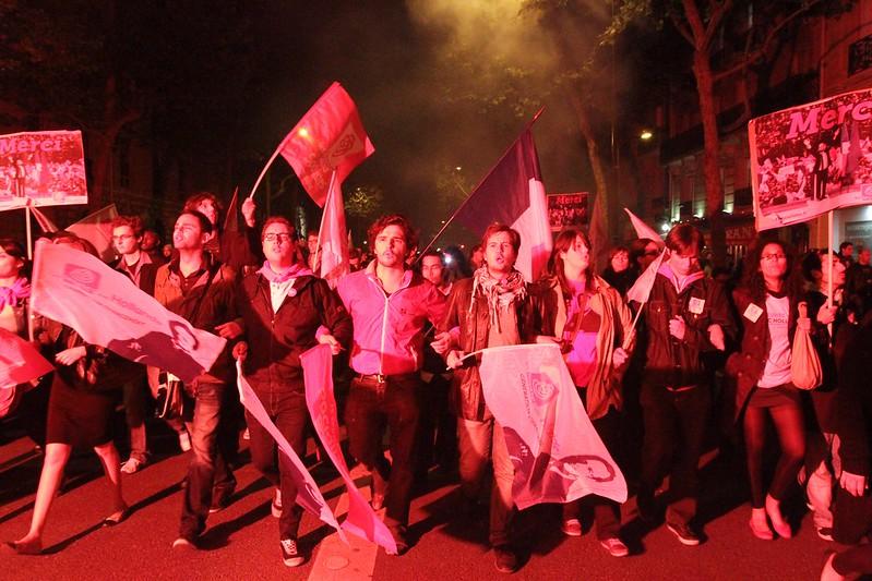 Bastille le 6 Mai 2012 - Photo Parti Socialiste - licence Creative Commons