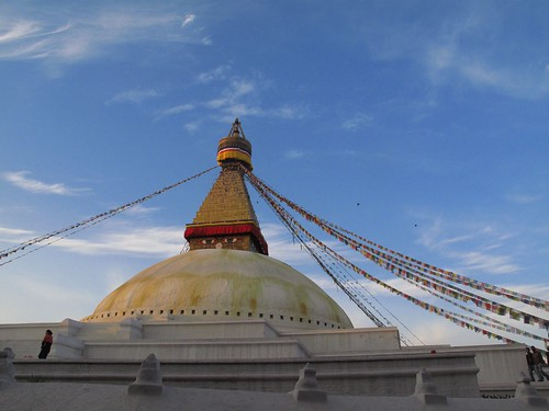 Boudhanath, Kathmandu by pollywogonalog