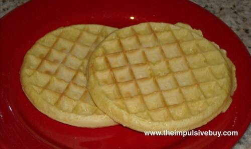 Kellogg's Eggo Low Fat Homestyle Waffles Closeup