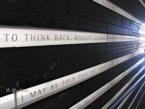 Writings on Irish Hunger Memorial