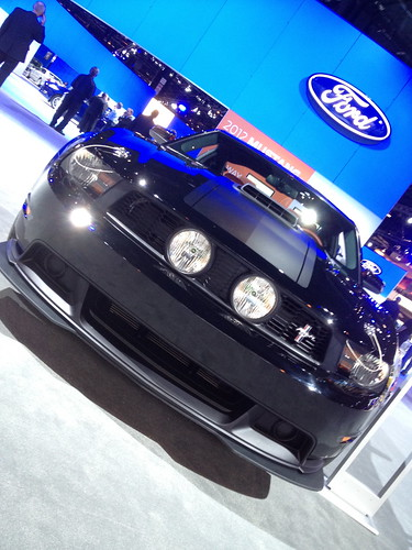 Ford shaker hood