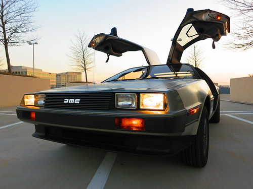 Our DeLorean DMC-12