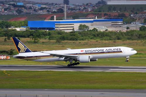 Singapore Airlines | Boeing 777-300ER @ SBGR