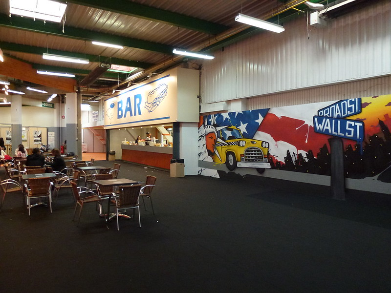 65ers graffiti bar parc expo foire toulouse hall 5