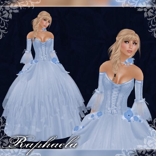 Raphaela - Gown - Ice