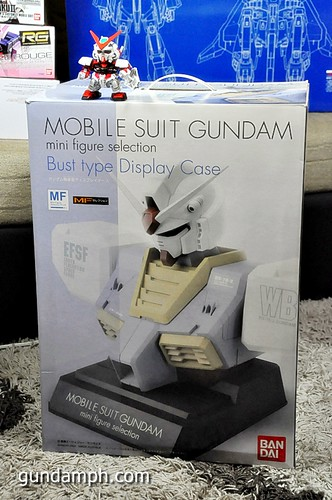 MSG RX-78-2 Bust Type Display Case (Mobile Suit Gundam) (8)
