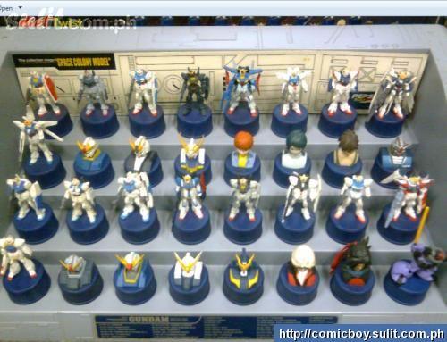 Gundam Bottle Cap Figures (2)