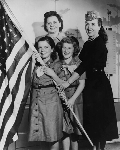Girl Scouts of America 1950's