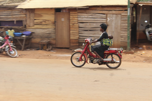 Iheaka Enugu State Nigeria Female Motorcyclist by Jujufilms