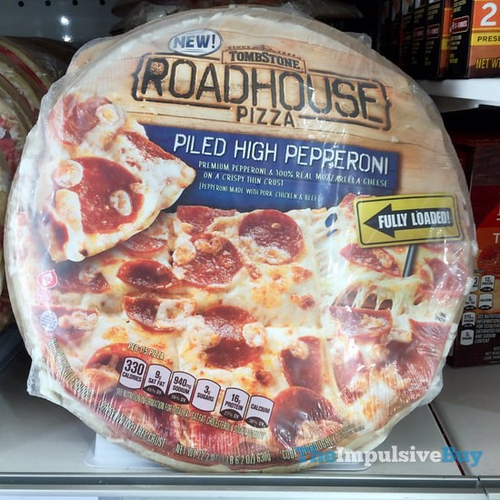 Tombstone Piled High Pepperoni Roadhouse Pizza
