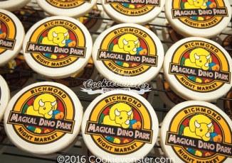 """DinoPark 2.75"""" printed image cookies"""