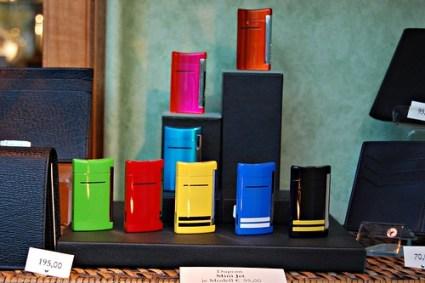 Colorful cigarette lighters