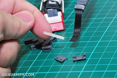 MG 1-100 Gundam HeavyArms EW Unboxing OOTB Review (67)