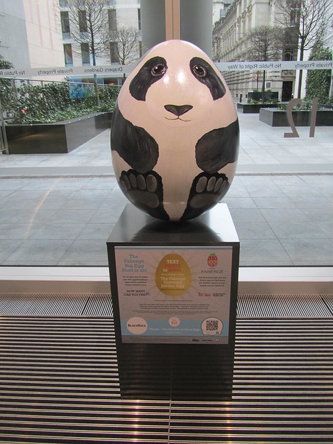210 - Panda - The BlackRock Asian Egg by Jessica Graham