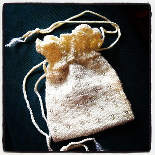 beaded wedding purse