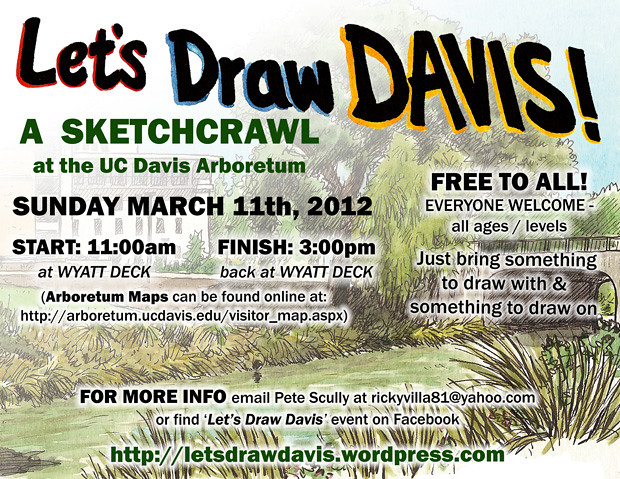 let's draw davis, march 11, 2012