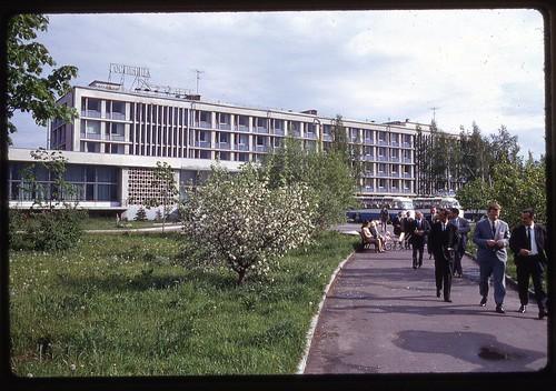Hotel Dubna, Dubna, 1969
