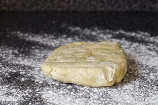 the chilled buttery shell dough