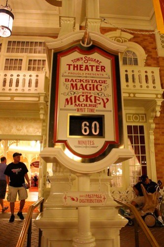 Long wait for Mickey - One More Disney Day