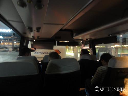Tokyo to Helsinki via paris