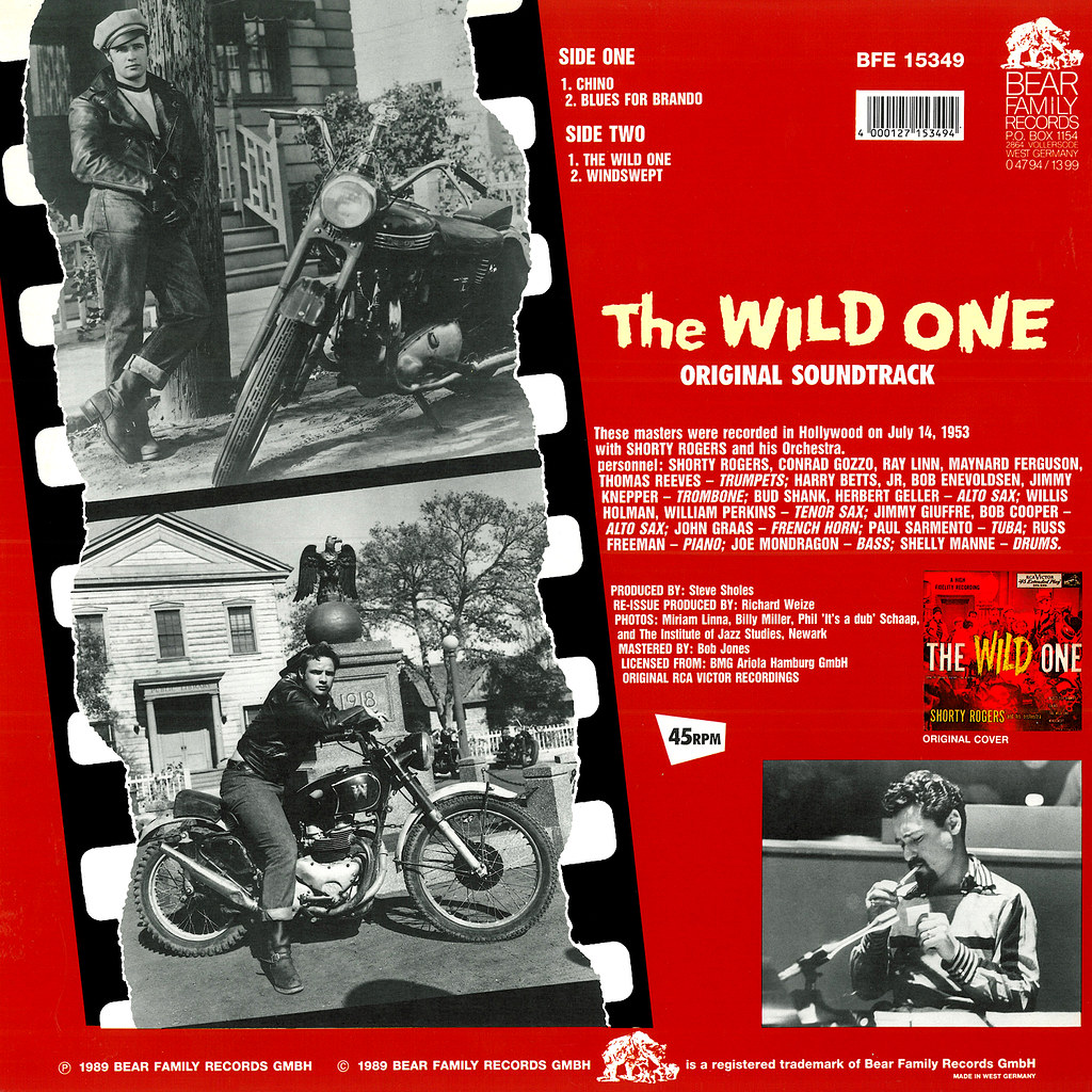 Shorty Rogers, Leith Stevens - The Wild One