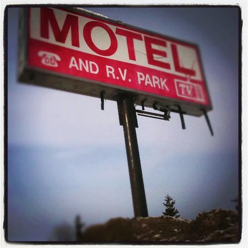 john's motel sign