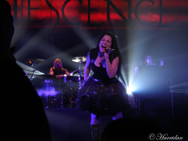Amy Lee live in Zepp Osaka