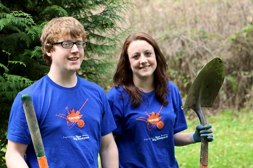 King County Parks volunteer shirts by kingcountyparks