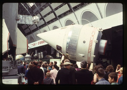 Vostok in Nose Cone with Lunik-1, Moscow, 1969