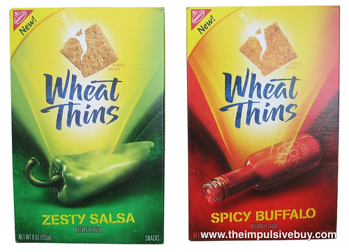 Wheat Thins (Spicy Buffalo & Zesty Salsa)