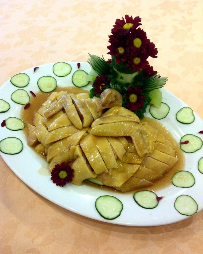Hainanese chicken at Tao Yuan