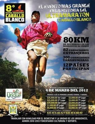 Ultramaraton Caballo Blanco en las Barrancas del Cobre