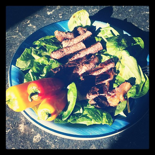 Porterhouse Steak Salad